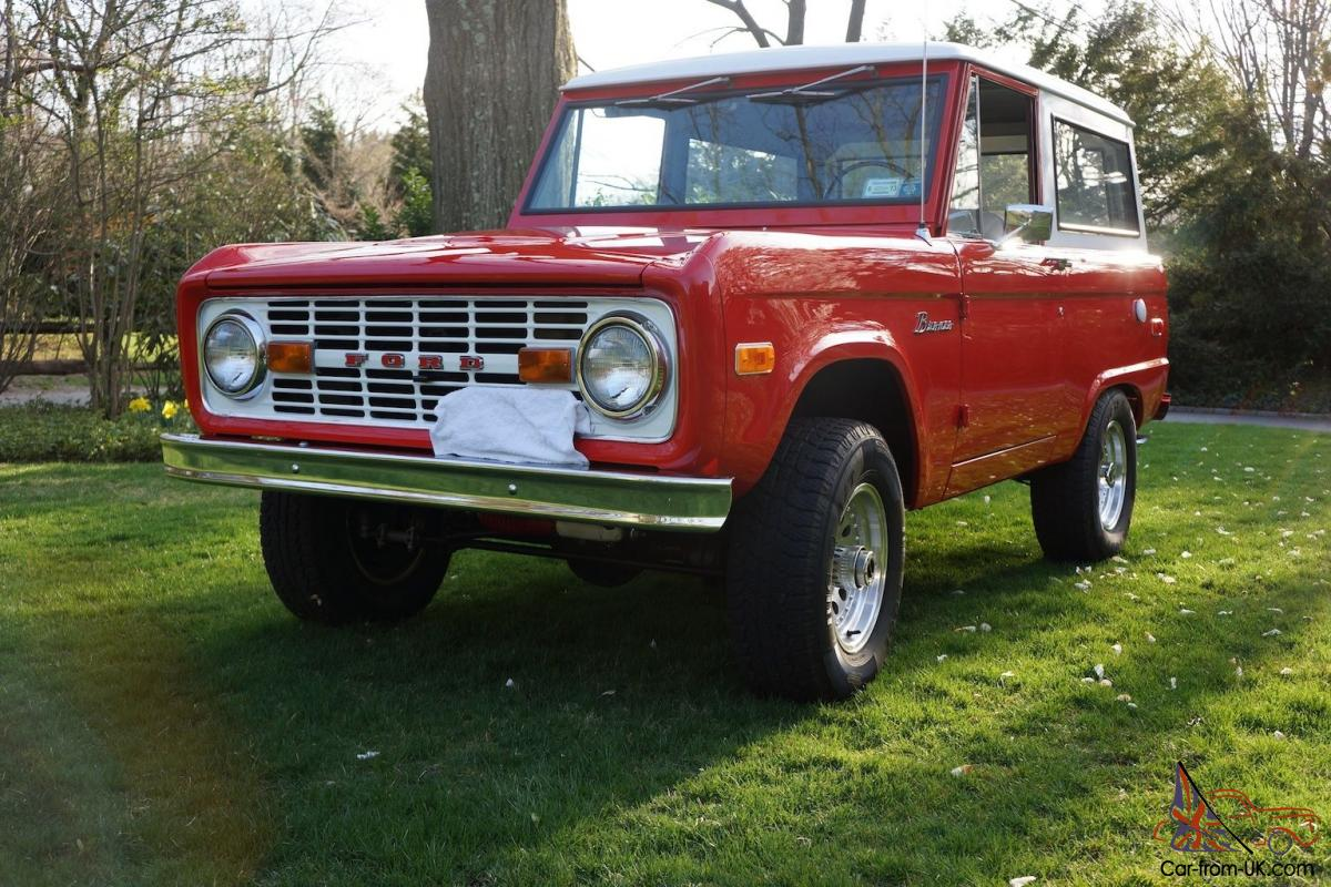 1970 ford bronco v8 mint condition. Black Bedroom Furniture Sets. Home Design Ideas