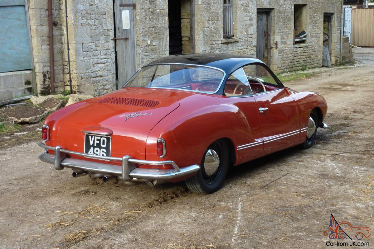 1959 VW Karmann Ghia Lowlight Coupe RHD