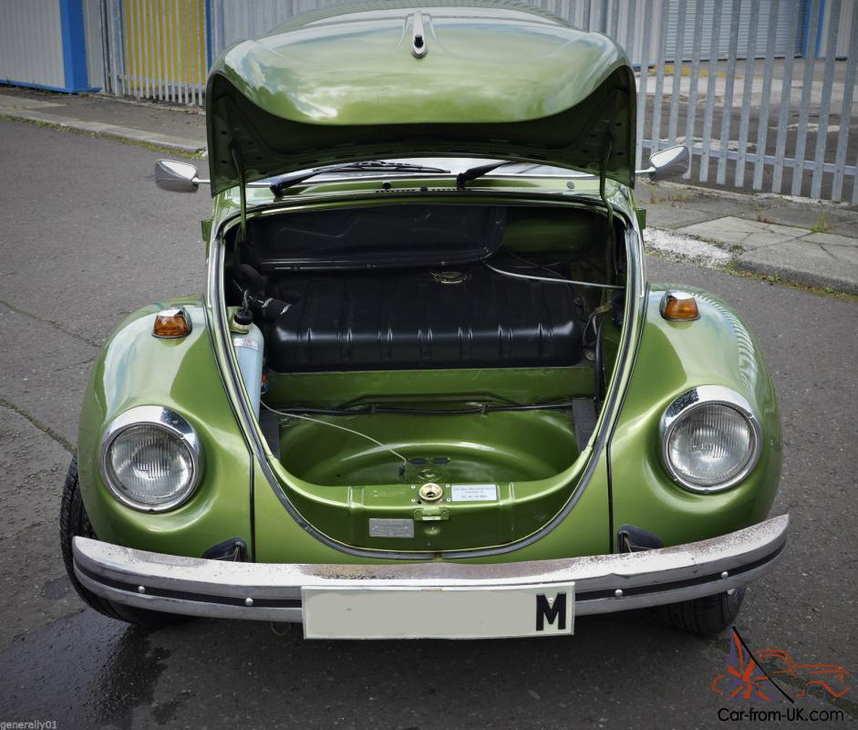 1974 Volkswagen 1303s Big Beetle Under 17000 Miles From New
