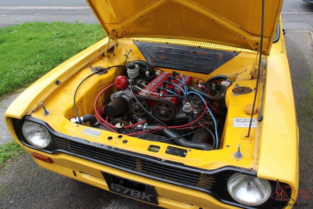 25ea6f300f escort mk1 engine Mk1   Mk2 Escorts for sale I have seen Mk1 Escorts with  Cosworth engines advertised for sale in on it. its a ford Escort mk1 4x4  turbo it ...