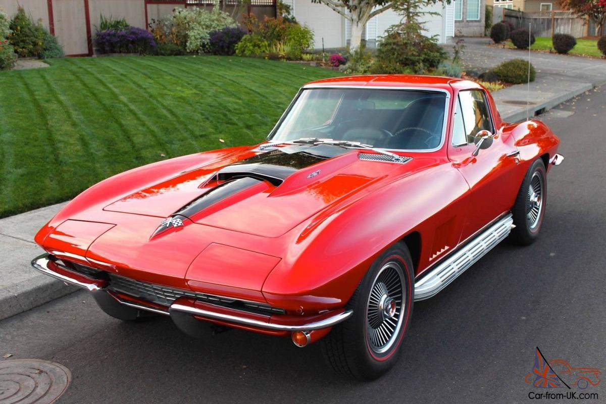 1967 chevrolet corvette 427 coupe 4 speed sidepipes leather beautiful. Black Bedroom Furniture Sets. Home Design Ideas