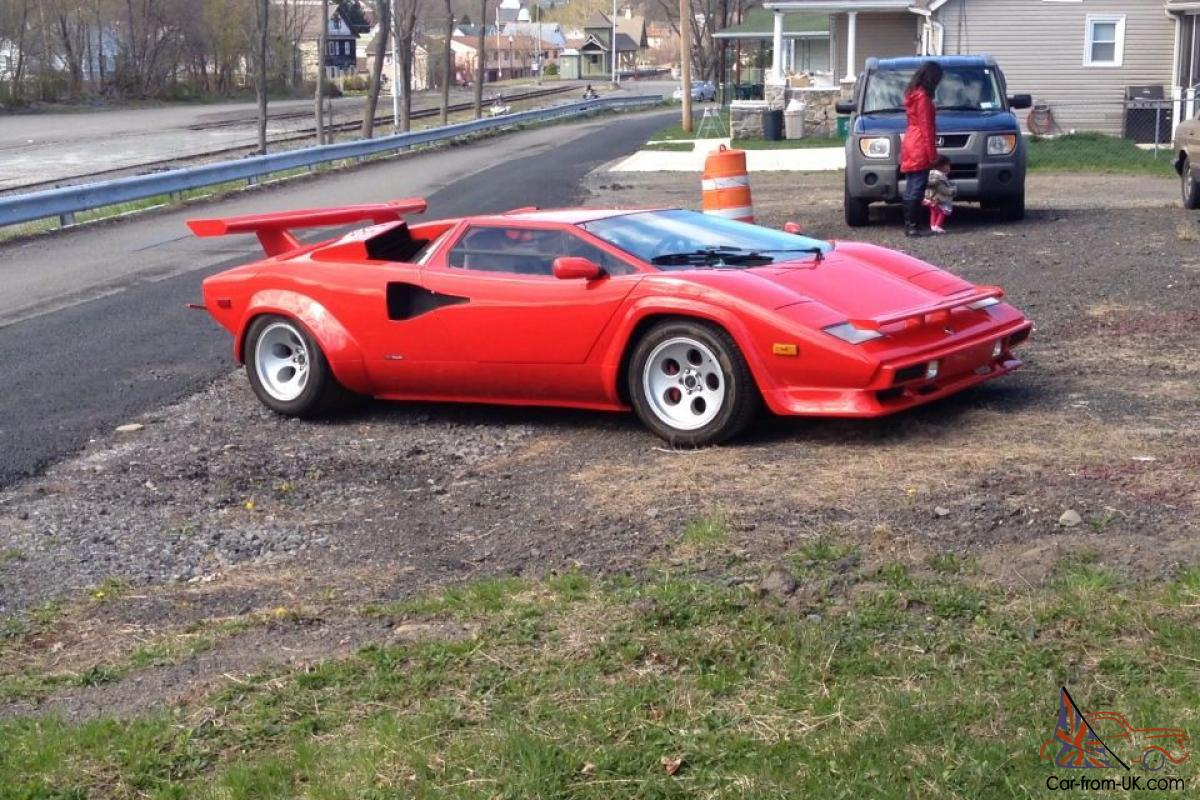 Used Lamborghini Countach Replica For Sale