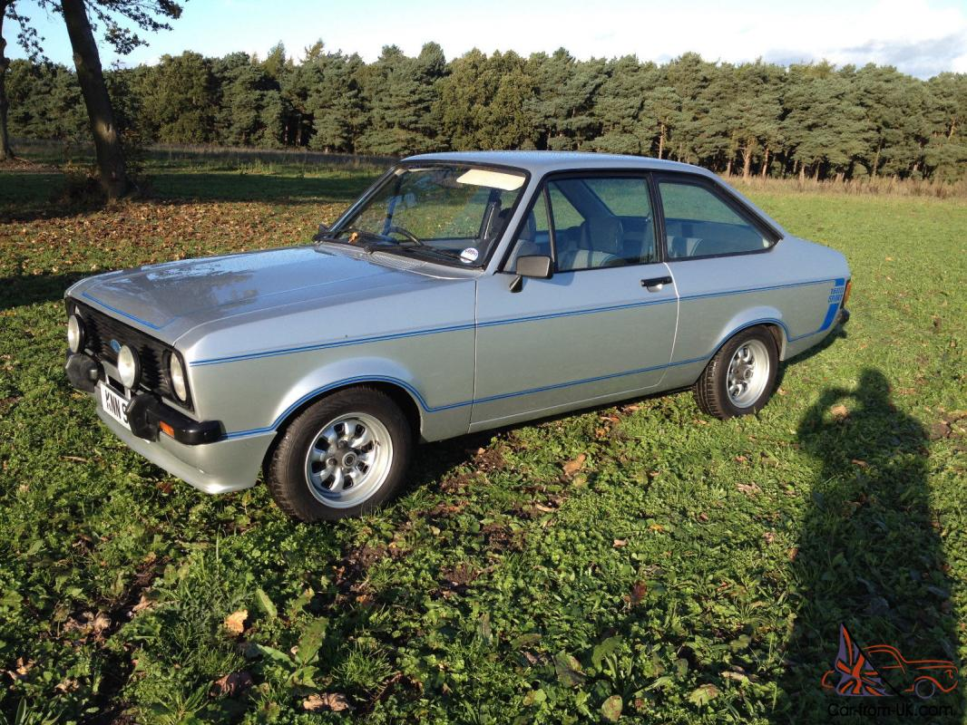 1979 ford escort 1600 sport silver imaculate condition. Black Bedroom Furniture Sets. Home Design Ideas