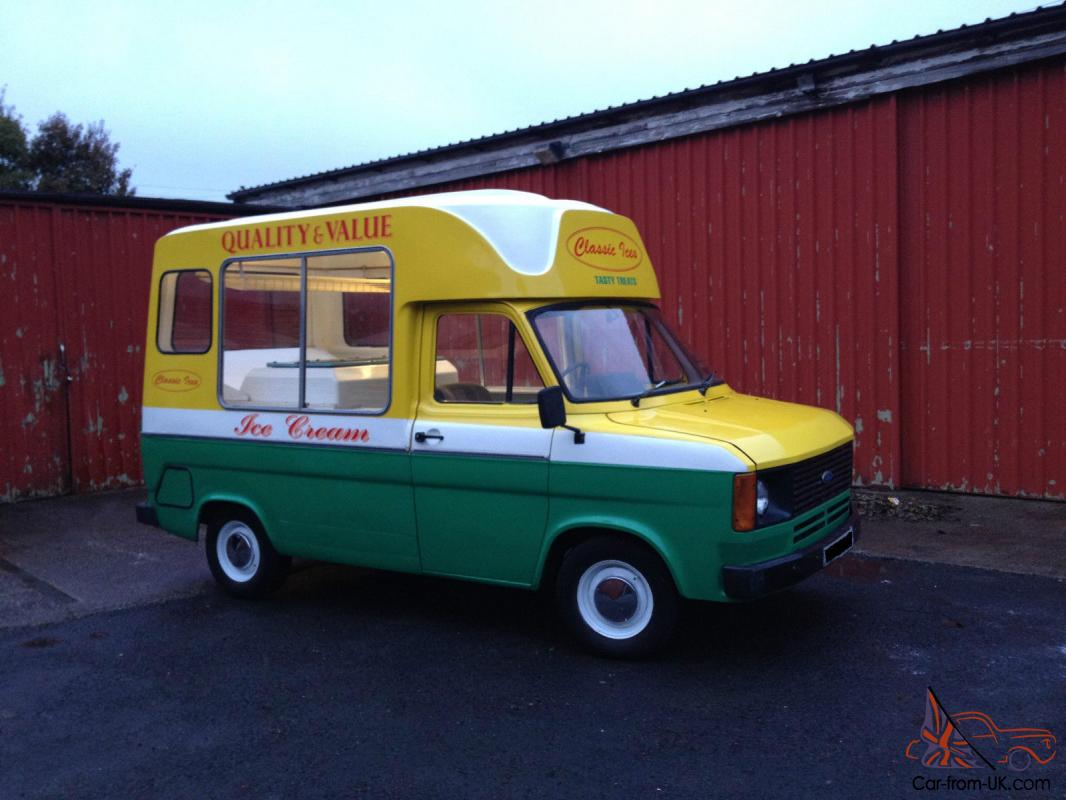 Classic MK2 Ford Transit Genuine Morrison Ice Cream Van - Extremely ...