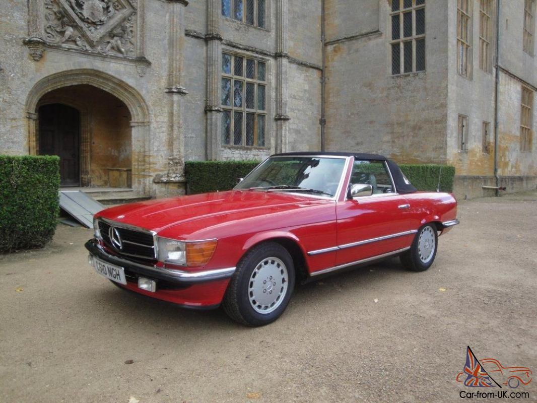 1985 mercedes benz 280sl immaculate condition for Mercedes benz fixed price servicing costs
