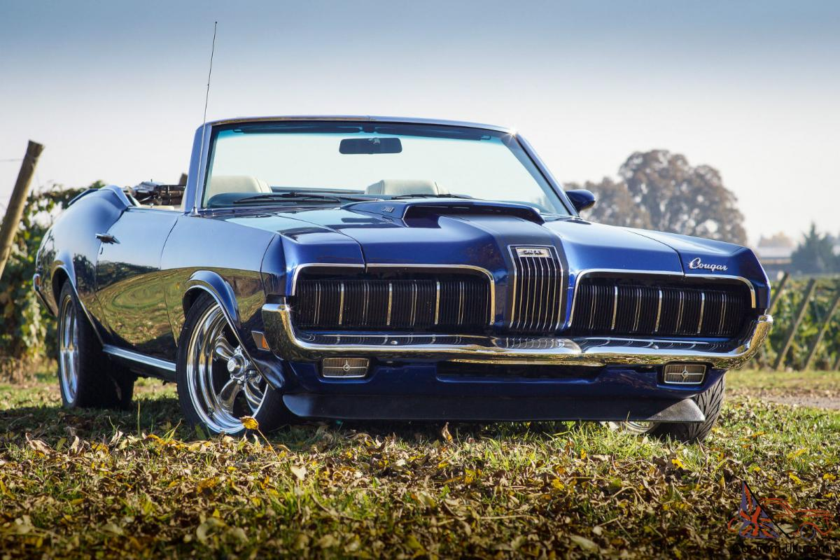 1970 Mercury Cougar XR-7 Convertible / 351-4V / 5-Speed