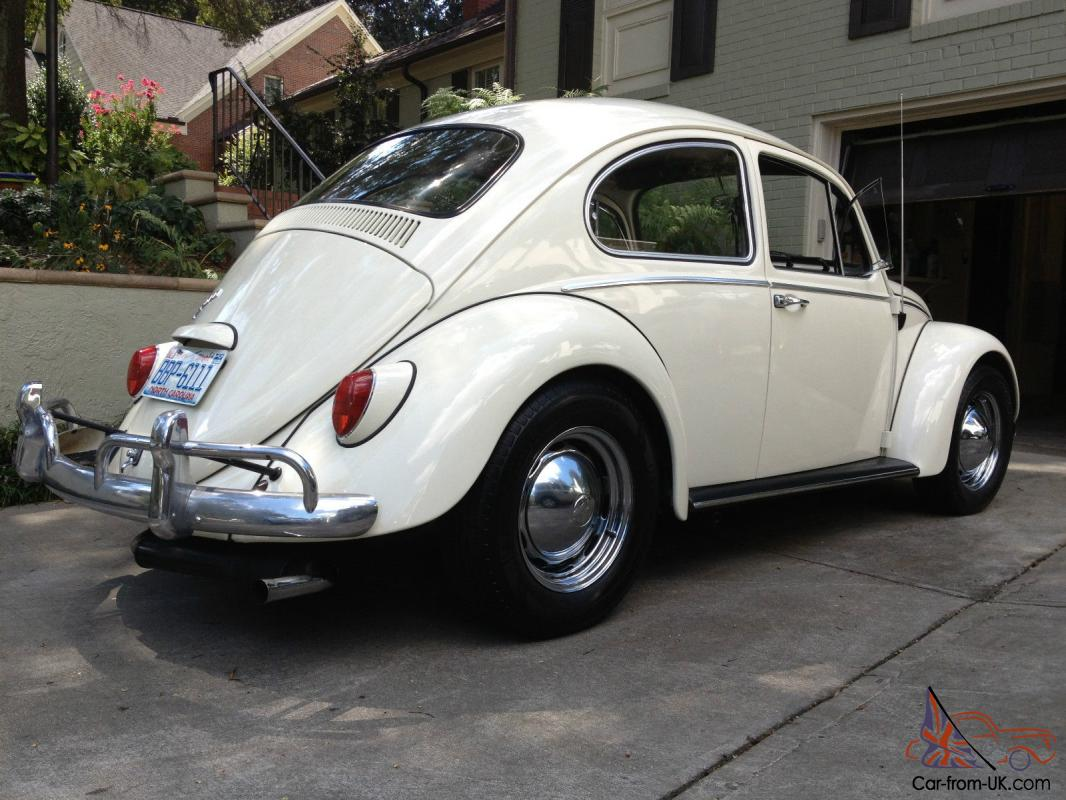 fully restored 1966 volkswagen beetle bug vw classic. Black Bedroom Furniture Sets. Home Design Ideas