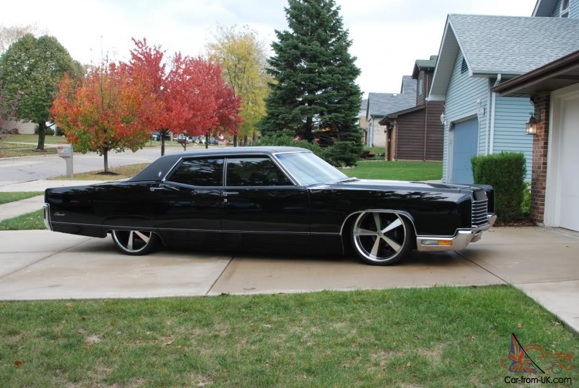 1971 Lincoln Continental With Air Ride