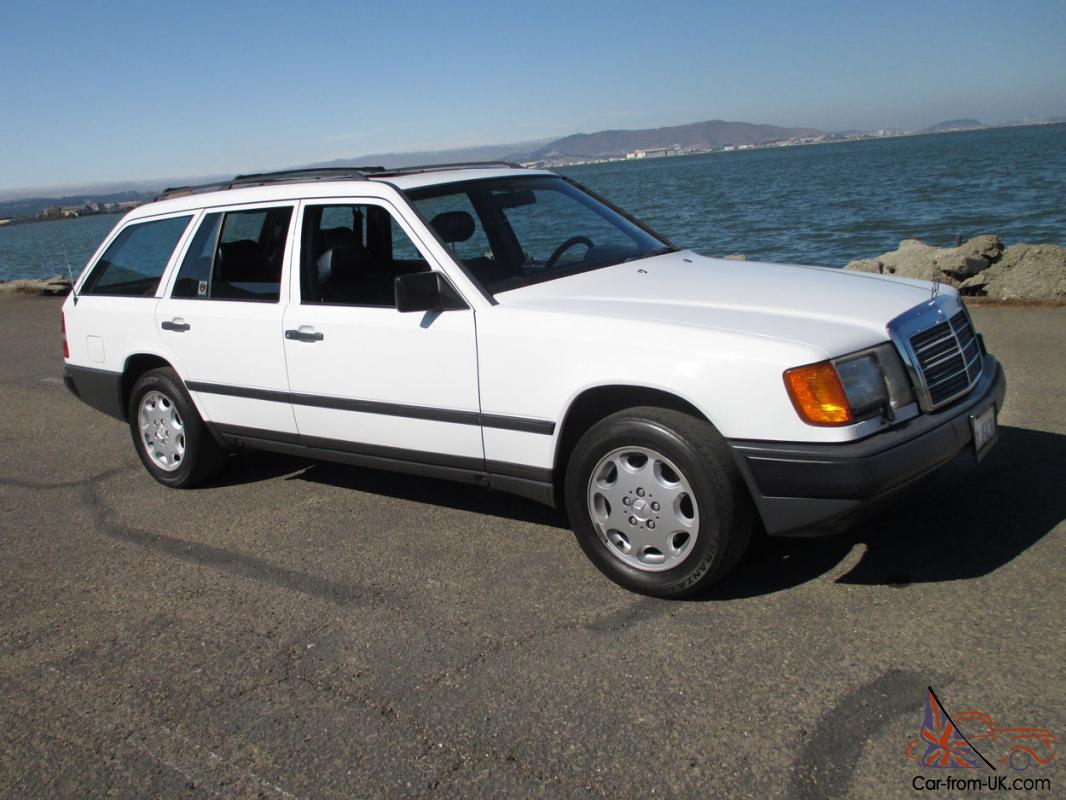 immaculate 1989 mercedes benz 300te estate wagon rust free ca car 3rd row seat. Black Bedroom Furniture Sets. Home Design Ideas