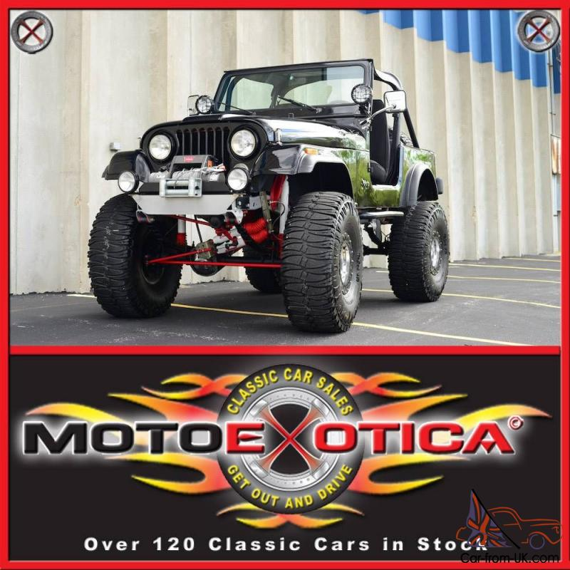1983 Amc Jeep Cj 7 Mountain Climber 38 Quot Tires Warn Winch Rancho Susp Awesome