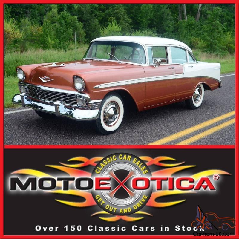 1956 Chevy Bel Air Full Nut Amp Bolt Restoration Investment Grade Numbers Match