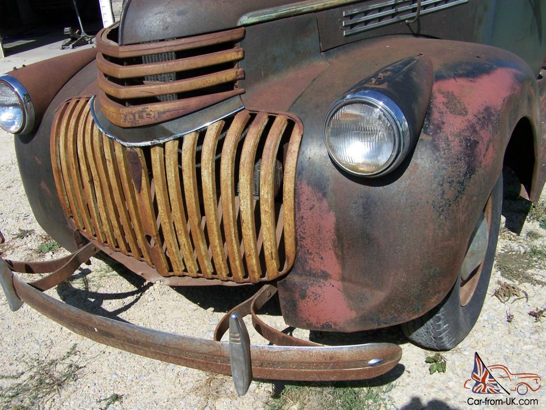 1942 Chevy Truck Clean Clear Iowa Title Very Rare Year Of Seat