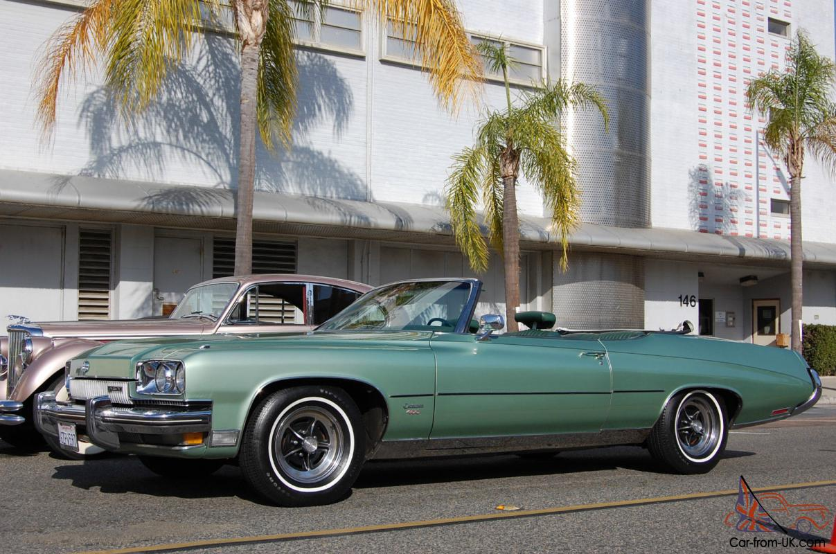 check this one out! all original! 1973 buick centurion convertible