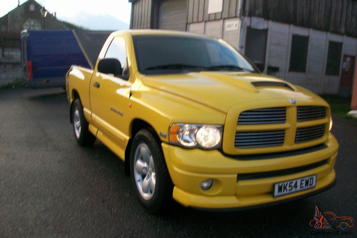 2004 2005 dodge ram 1500 5 7l hemi rumblebee edition. Black Bedroom Furniture Sets. Home Design Ideas