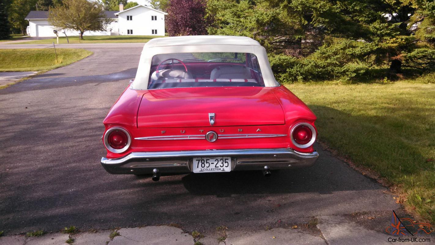 For Sale: 1963 Ford Falcon Futura.