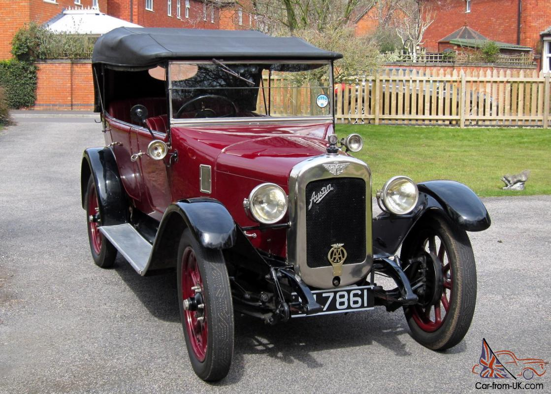 Vintage Austin 12/4 Clifton Tourer 1926