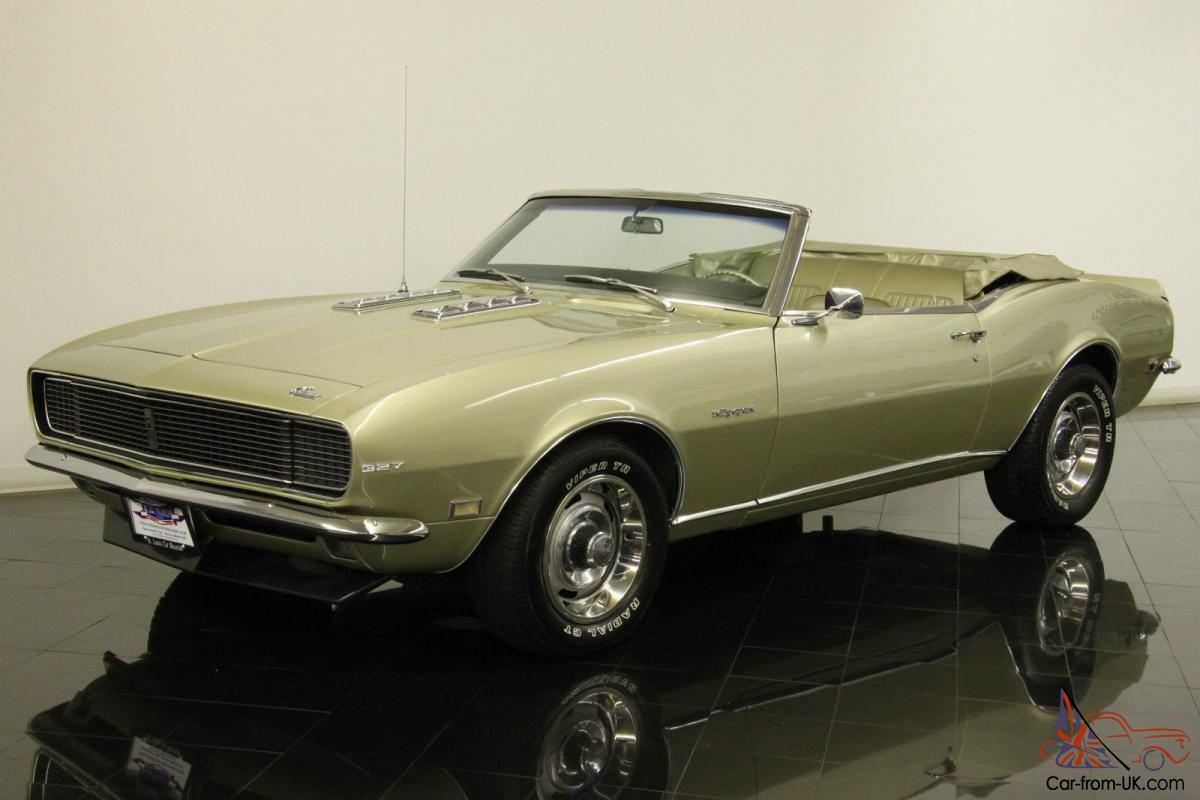 1968 Chevrolet Camaro Rs Convertible 327ci V8 Auotmatic Pt Ps Pb Ac