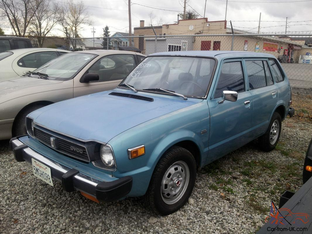 1978 honda civic wagon cvcc great origianl car no reserve for 1978 honda civic