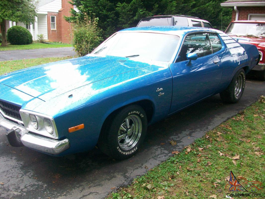 1974 Plymouth Satellite Sebring