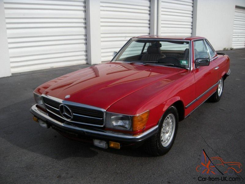 1984 Mercedes Benz Euro Model 500sl Matching Numbers R107