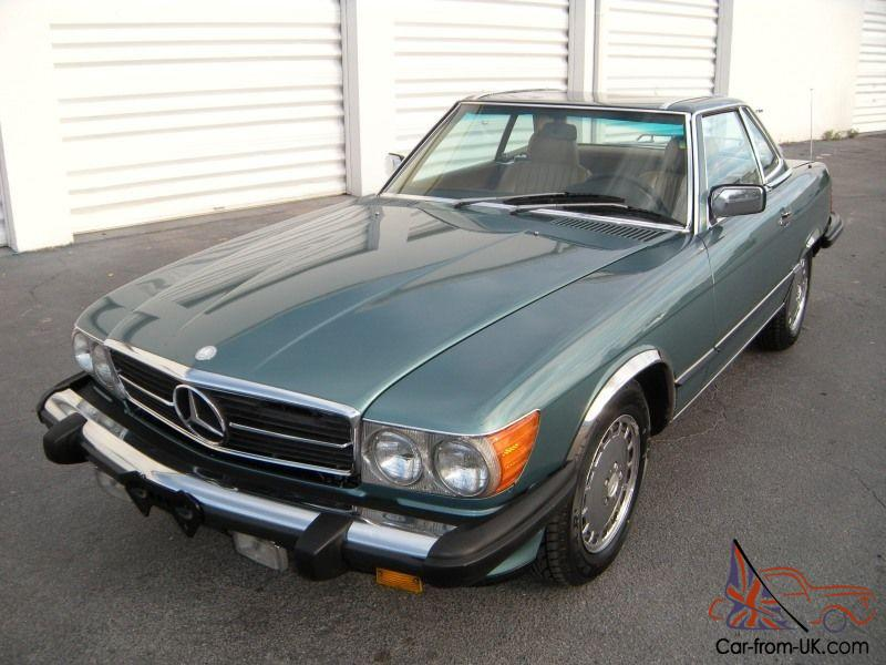 1986 Mercedes Benz 560sl Rust Free Matching Numbers R107