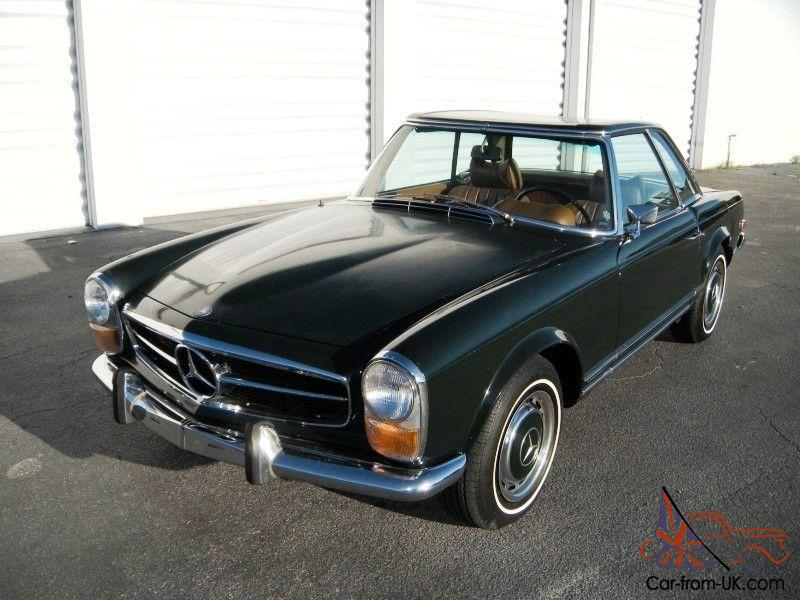 1970 mercedes benz 280sl w113 pagoda 4 speed manual with a for Mercedes benz 280sl pagoda for sale