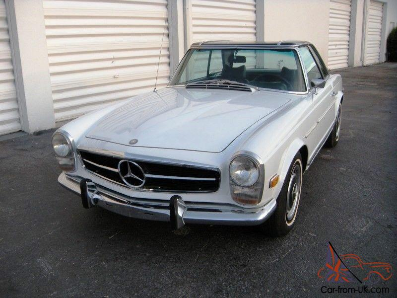 1969 mercedes benz 280sl w113 pagoda automatic with a c db for Mercedes benz 280sl pagoda for sale