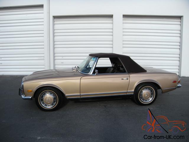 1971 mercedes benz 280sl w113 pagoda automatic with a c db 467 for Mercedes benz 280sl pagoda