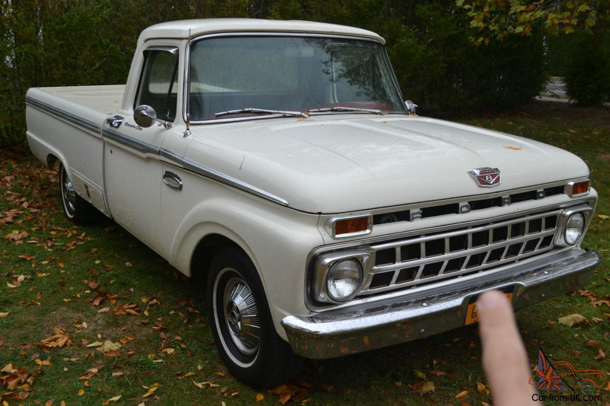 1337649 on 1965 1966 ford f series ranger a bit too