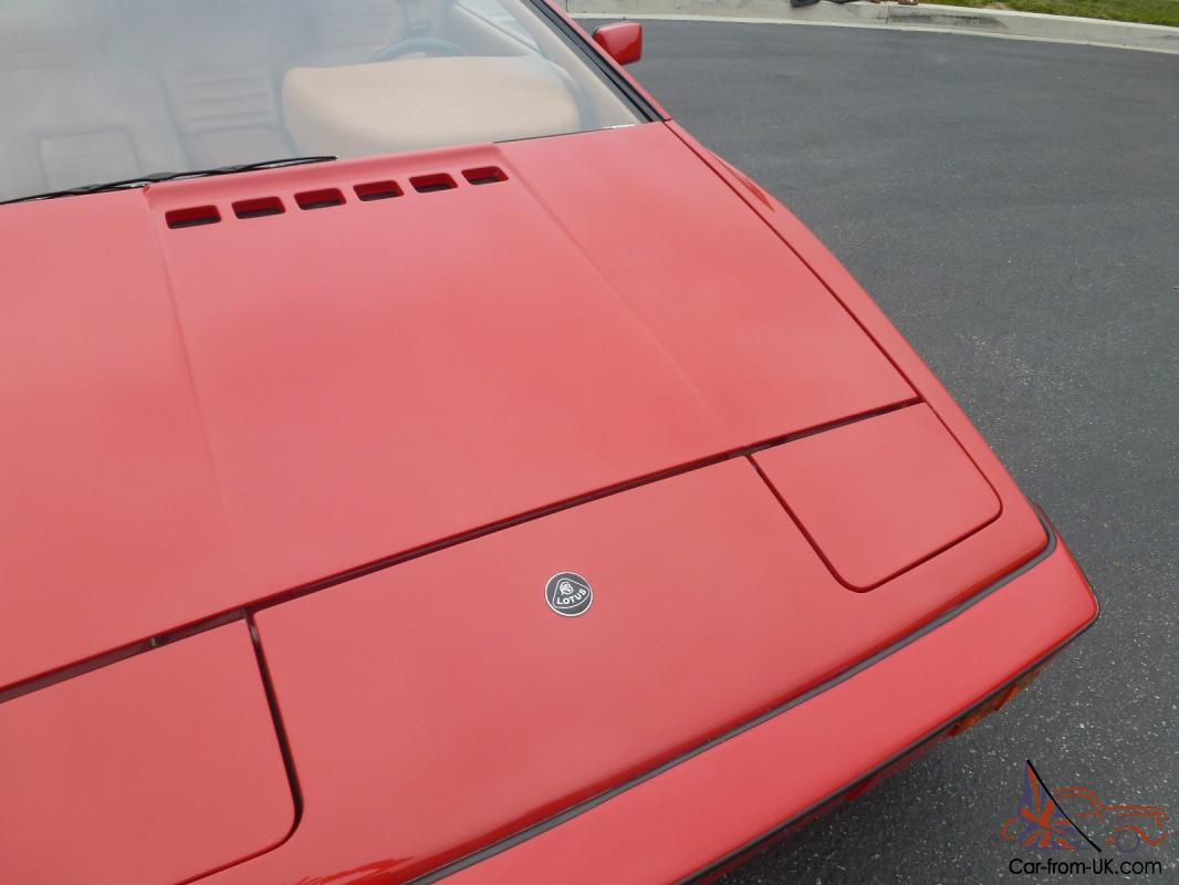 beautiful red 1977 lotus esprit this is a 1977 lotus