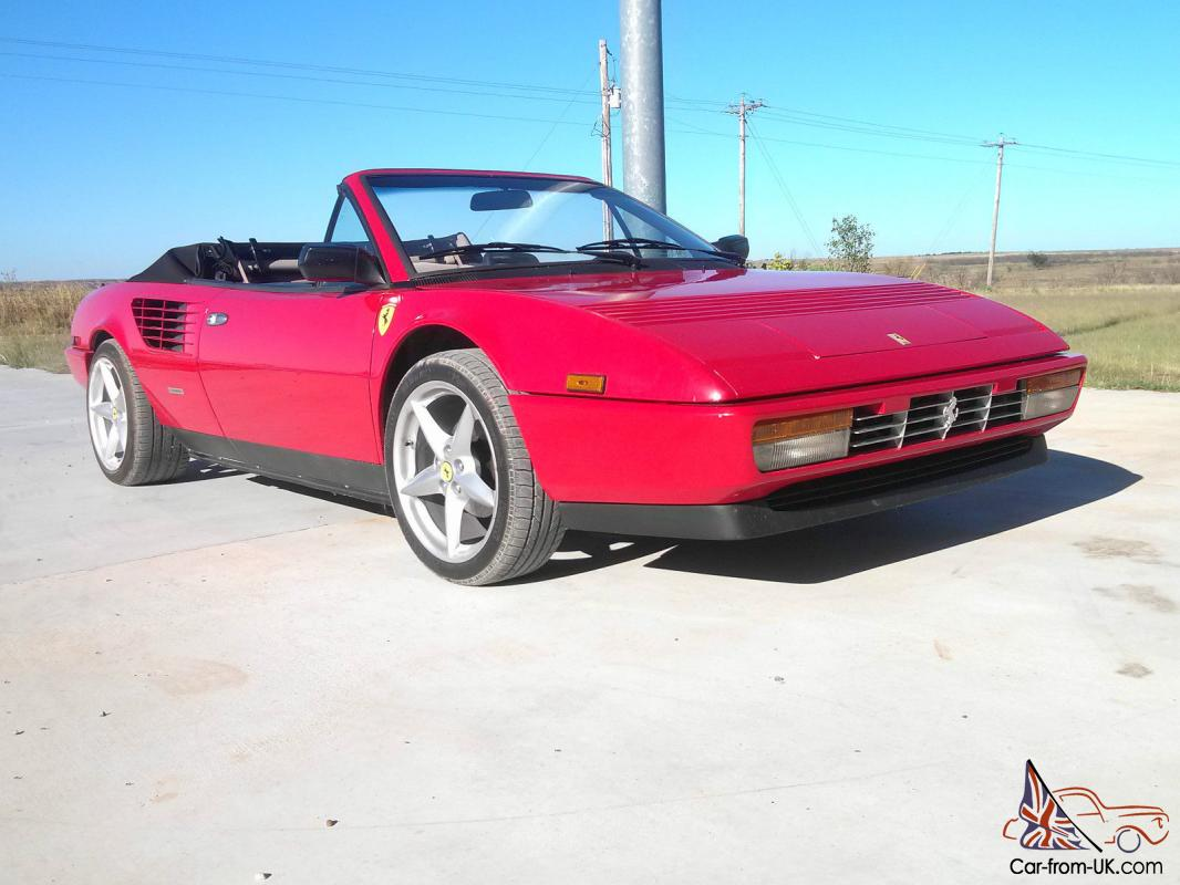 ferrari mondial convertible top 1985 ferrari mondial convertible 131048 1983 1985 ferrari. Black Bedroom Furniture Sets. Home Design Ideas