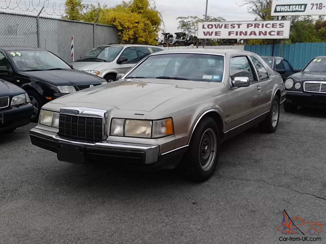 1989 Lincoln Mark Vii Lsc Sedan 2 Door 5 0l