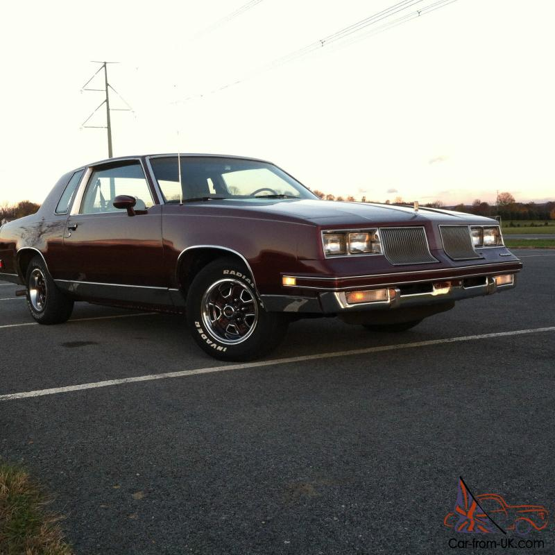 Cutlass Car For Sale Uk