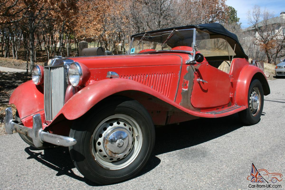 1951 mg td in nearly original condition. Black Bedroom Furniture Sets. Home Design Ideas