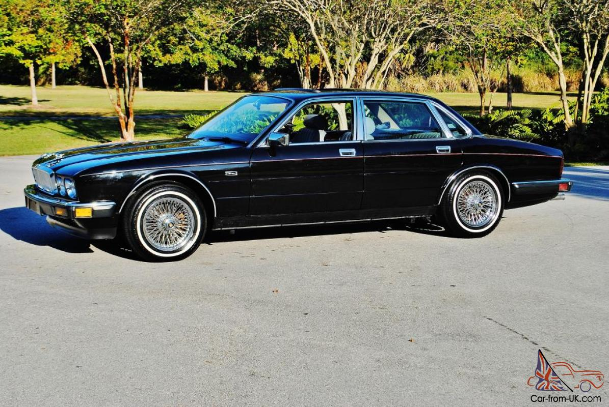 Absolutly stunning 1988 Jaguar XJ6 low miles no issues dayton wire ...