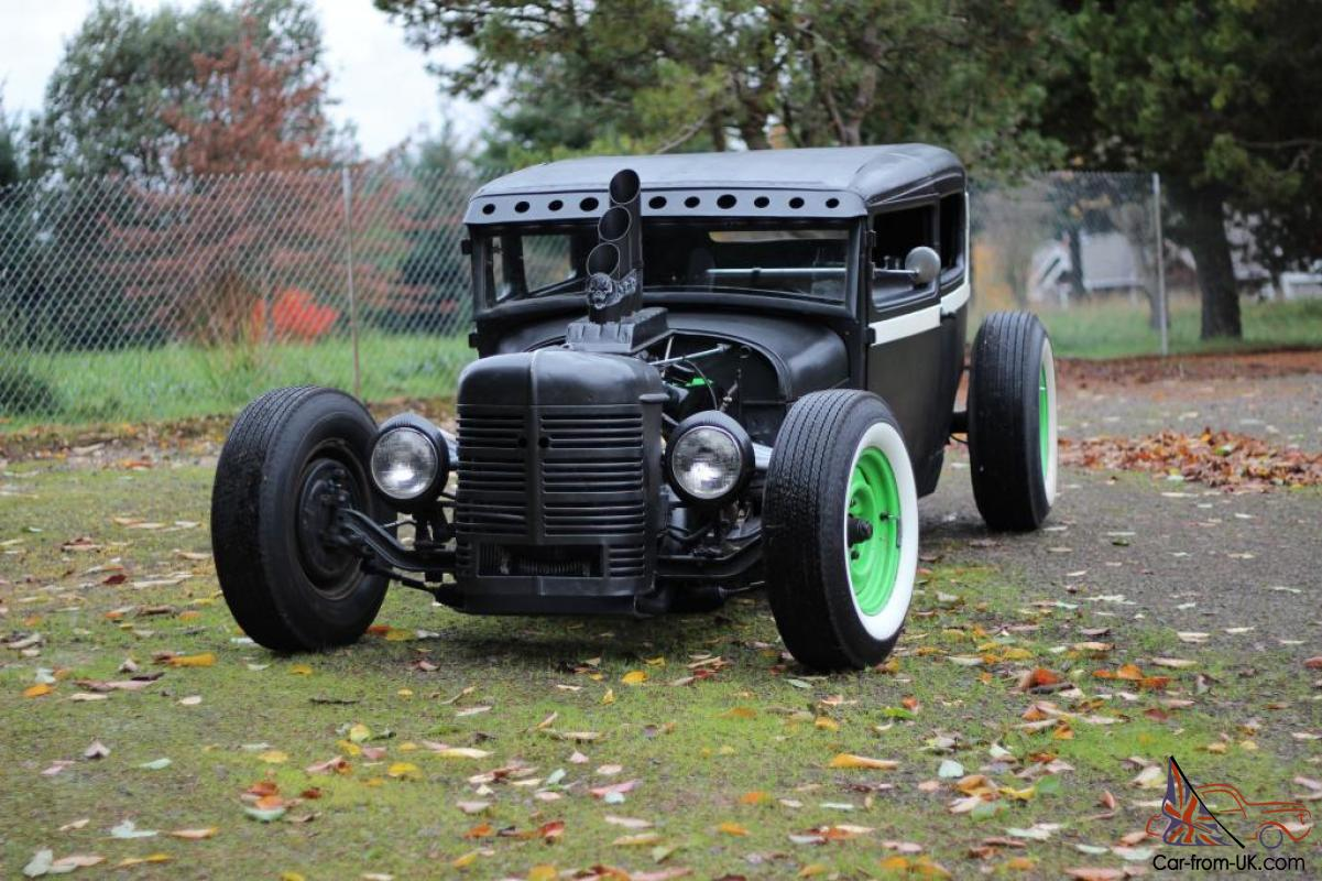 Rat Rod, Ford 302 Model A Tudor AMAZING!!!