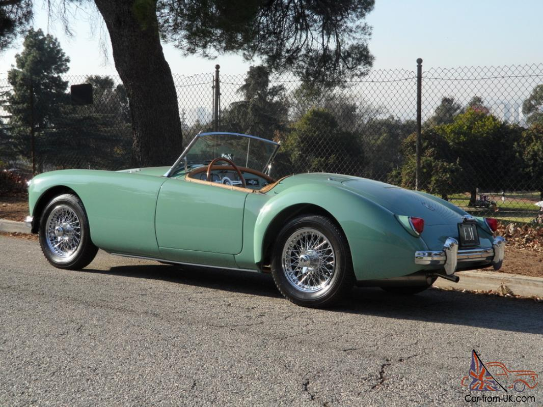 1956 Mg Mga 1500 Roadster 1976 Midget Wiring Diagram Usa