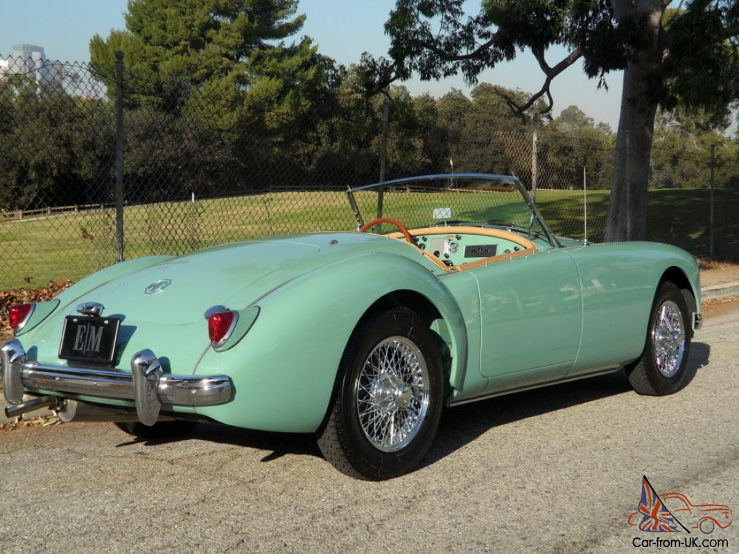 mg mga 1500 roadster 1956 mg mga 1500 roadster