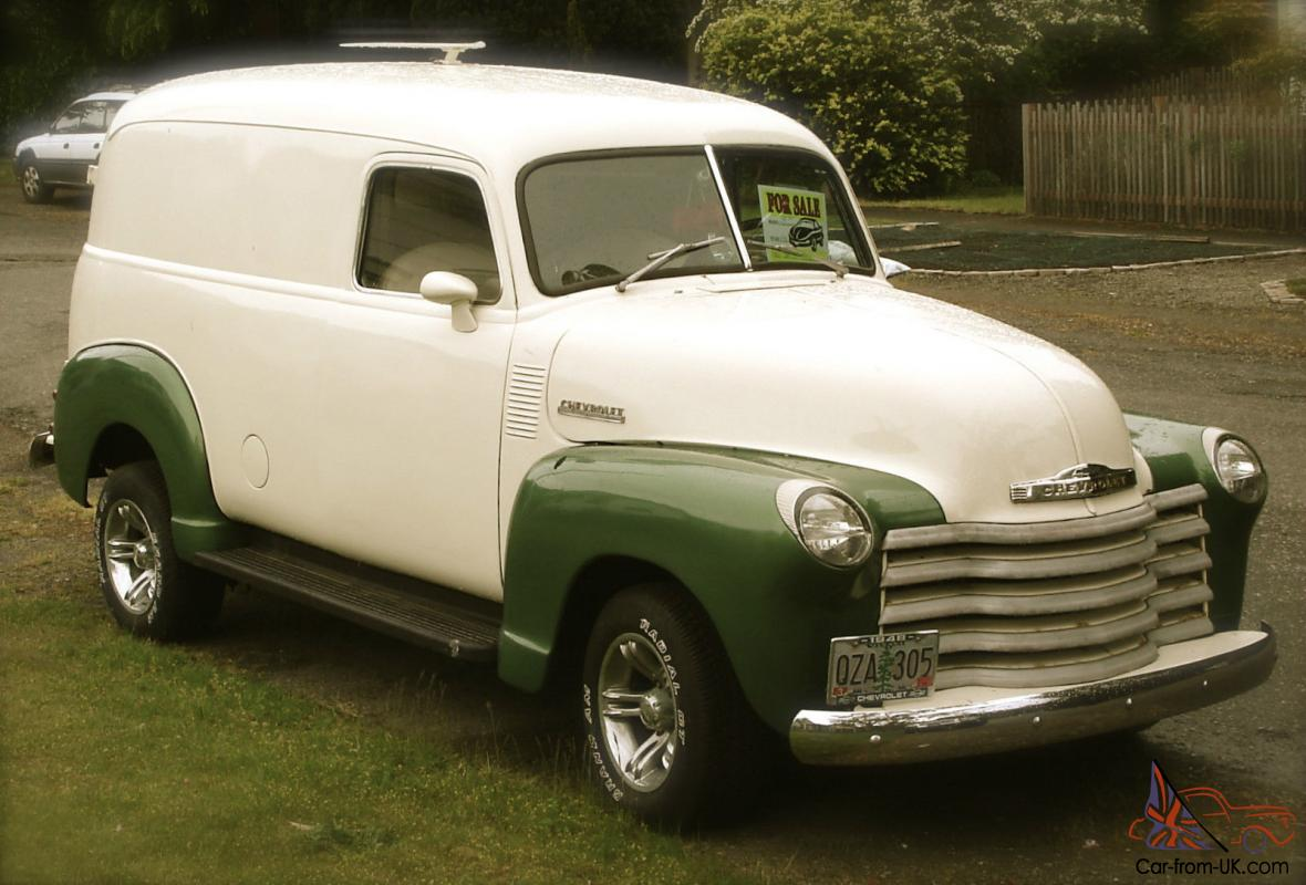 1948 Classic Chevy Panel Van for sale