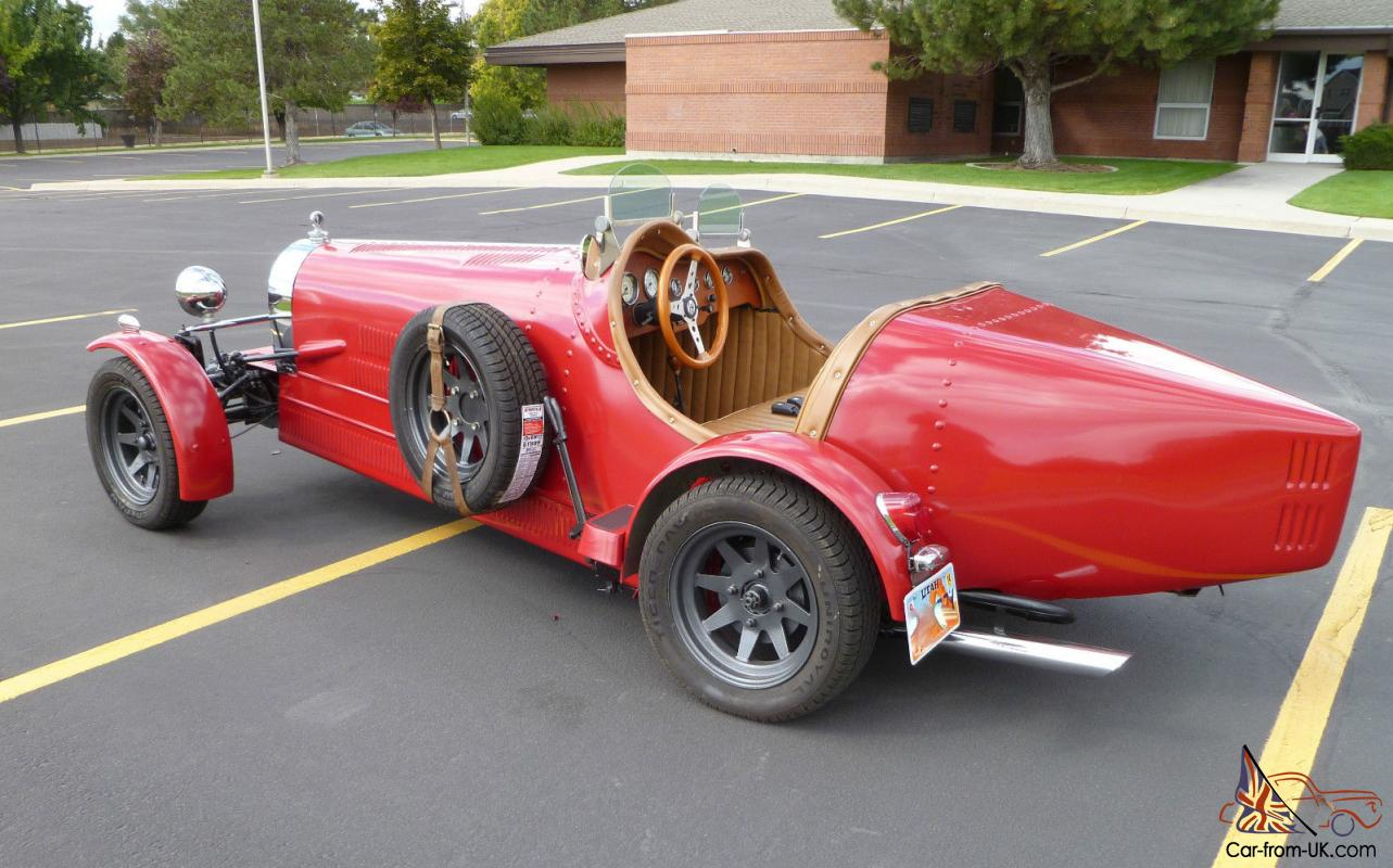 1927 Bugatti Kit Car Quot Rustic Red Quot