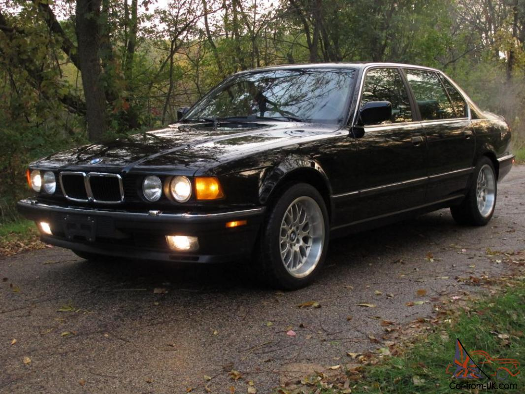 1988 bmw 750il 44k original miles rare gorgeous luxury sedan collectors v12 e32. Black Bedroom Furniture Sets. Home Design Ideas