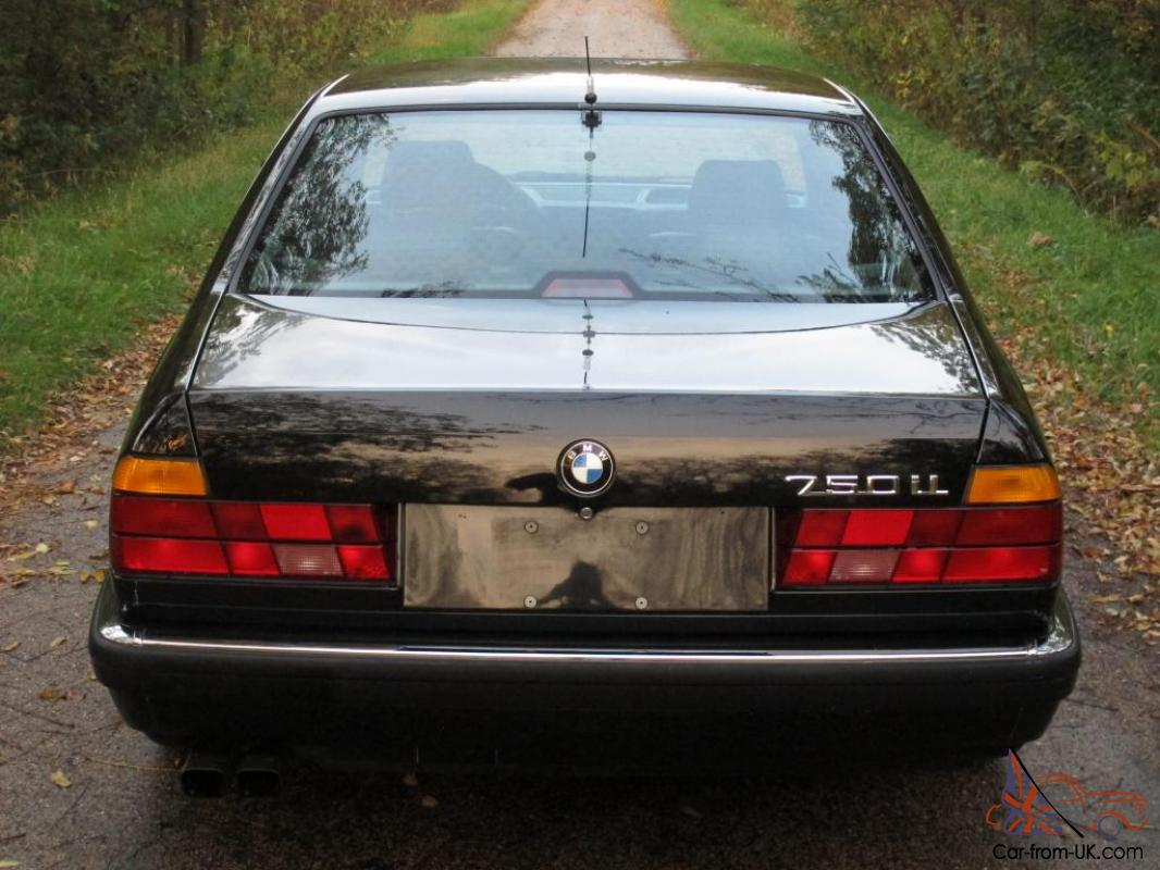 1988 Bmw 750il 44k Original Miles Rare Gorgeous Luxury Sedan Collectors V12 E32