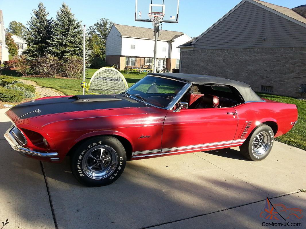 1969 mustang gt convertible. Black Bedroom Furniture Sets. Home Design Ideas