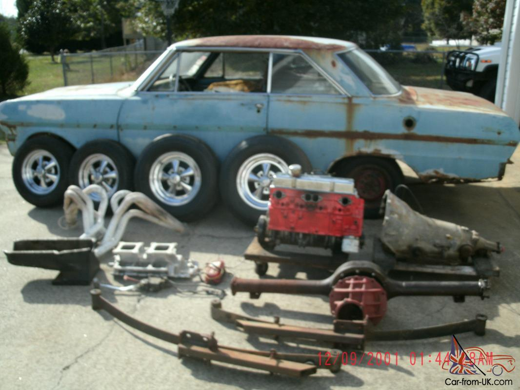 1963 Chevy Ii Nova Gasser Hot Rod Rat Rod