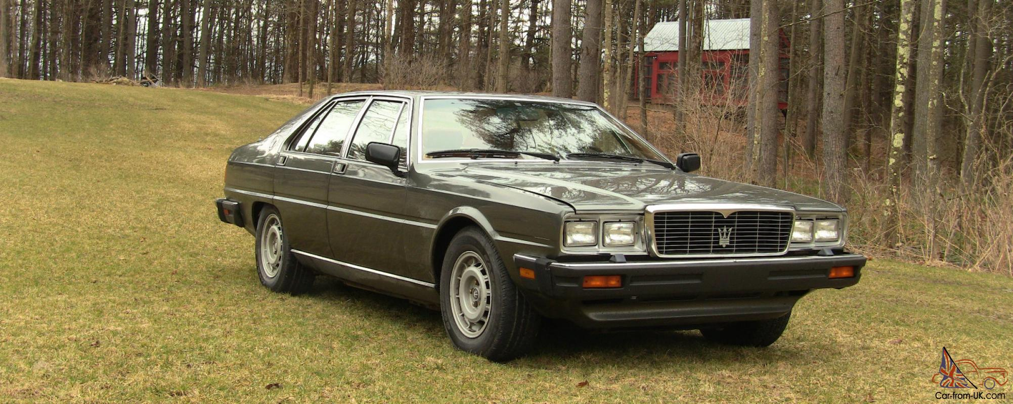 1985 maserati quattroporte for sale