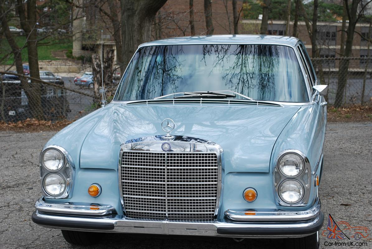1968 mercedes 280s one owner only 70 900 miles. Black Bedroom Furniture Sets. Home Design Ideas