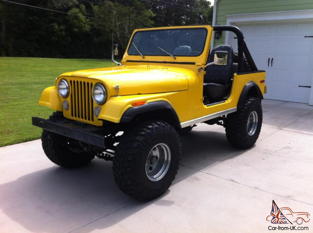 1977 Jeep Cj7 Base Sport Utility 2