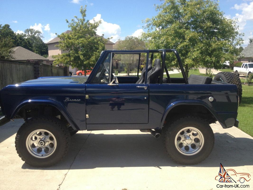 1966 classic restored ford bronco with 440hp crate engine. Black Bedroom Furniture Sets. Home Design Ideas