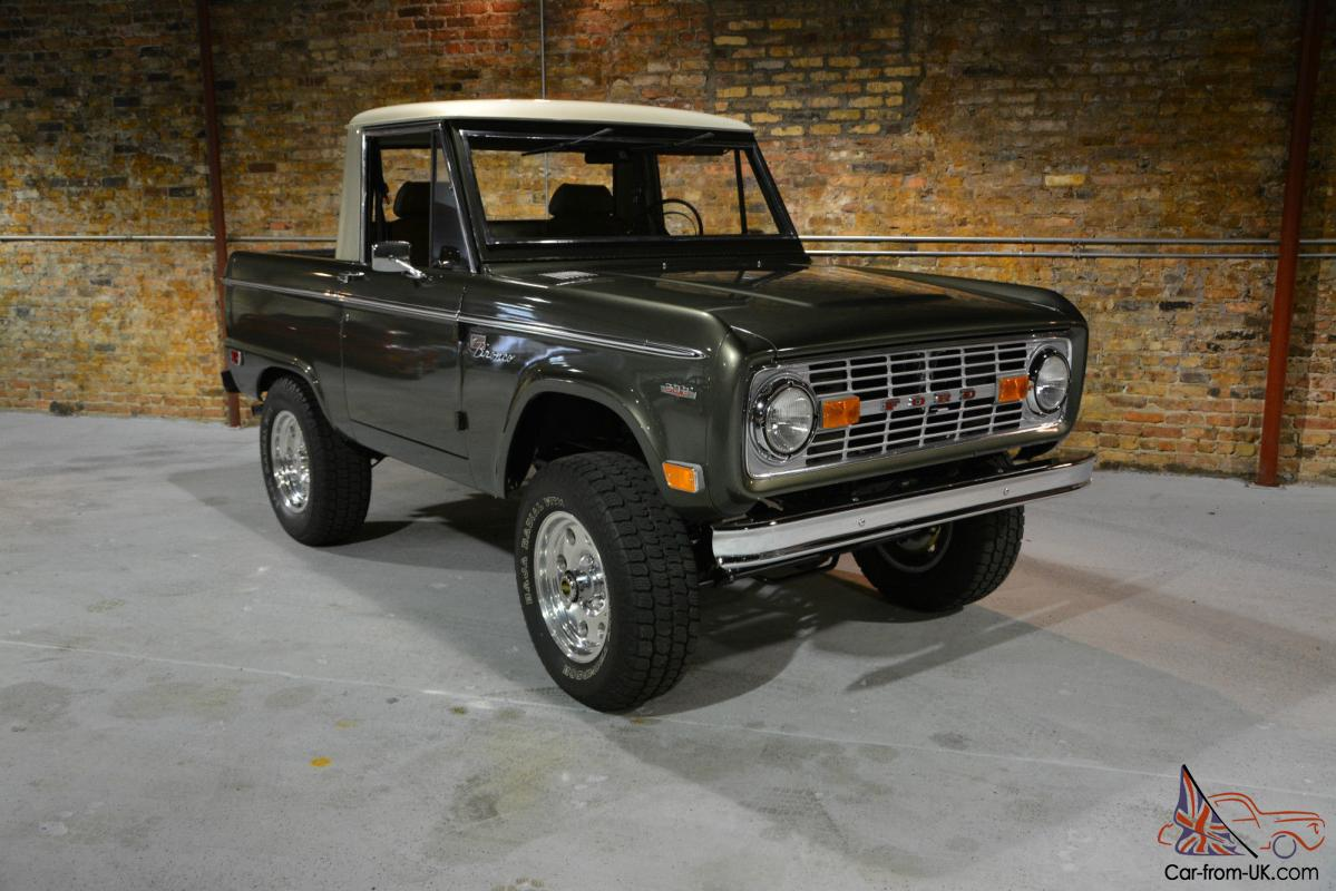 1969 ford bronco half cab early bronco