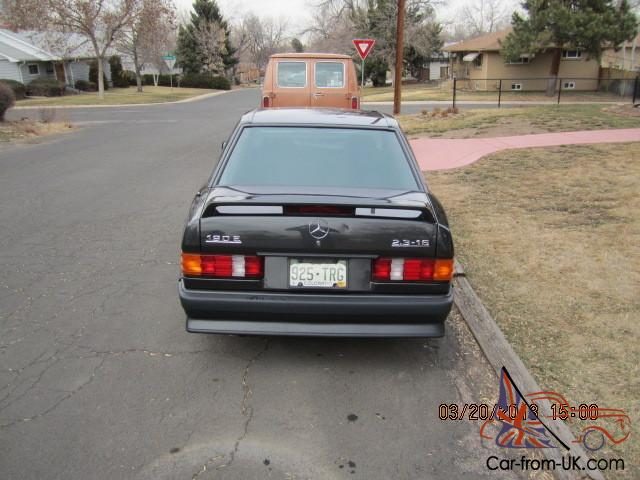 1986 mercedes 190 e 2 3 16v low mile original for Murray motors denver mercedes